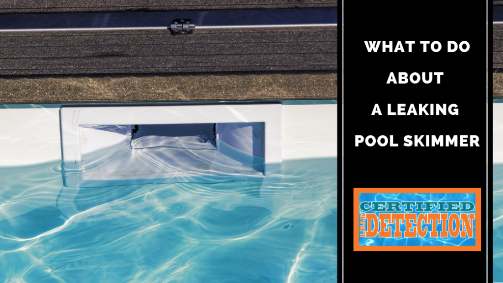 What to Do About a Leaking Pool Skimmer